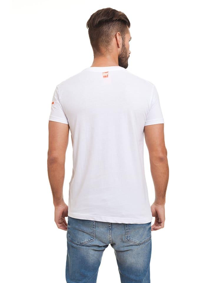 "Canadian Peak Shirt ""Jingo"" in Weiß"