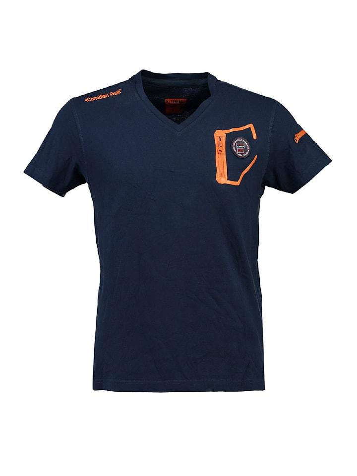 """Canadian Peak Shirt """"Jingo"""" in Dunkelblau"""