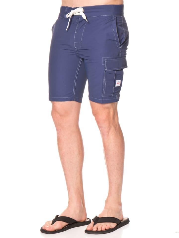 "Reef Shorts ""X"" in Dunkelblau"