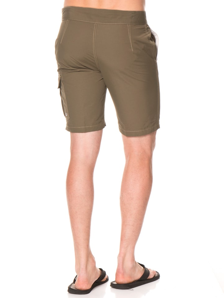 "Reef Shorts ""X"" in Khaki"