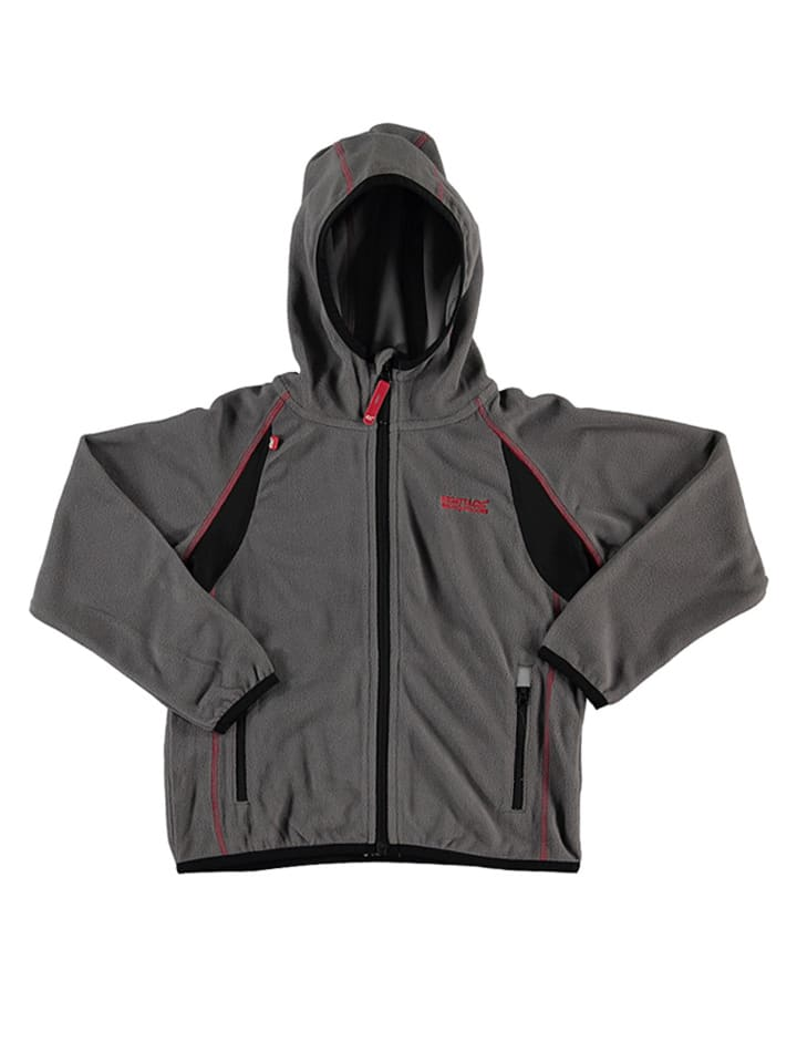 Regatta Fleecejacke Chromium in Grau