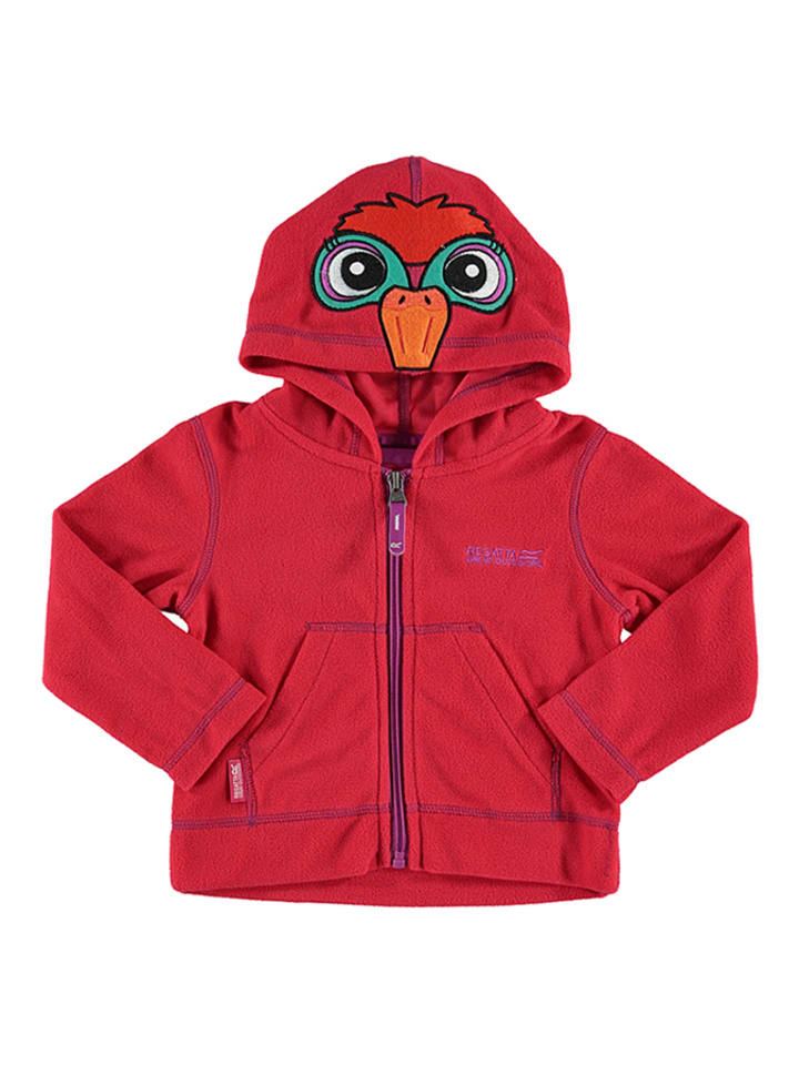 Regatta Fleecejacke Kiddo in Rot