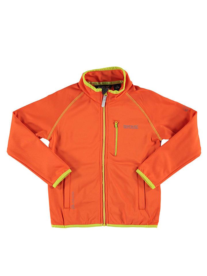 """Regatta Softshelljacke """"Limit"""" in Orange/ Gelb"""