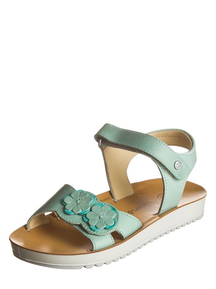 Sandales en cuir - menthe ZIILrAfmfV