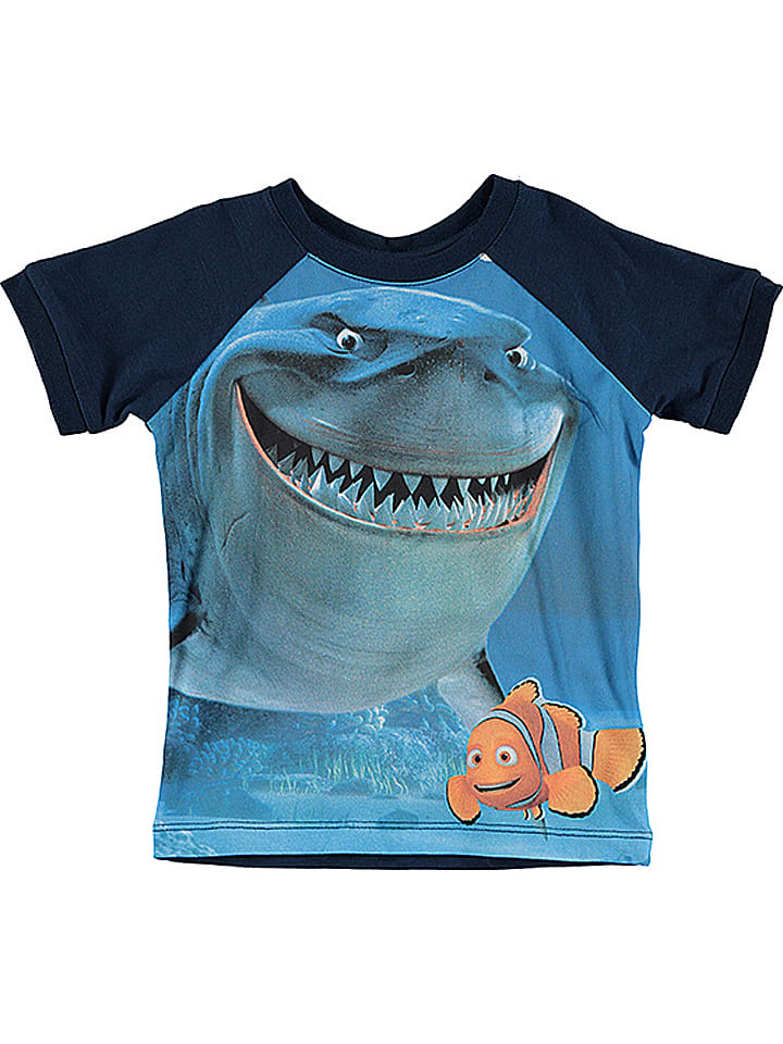 Name it Shirt ''Nemo'' donkerblauw