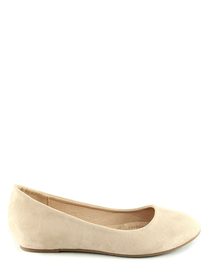 Sixth Sens Ballerinas in Beige