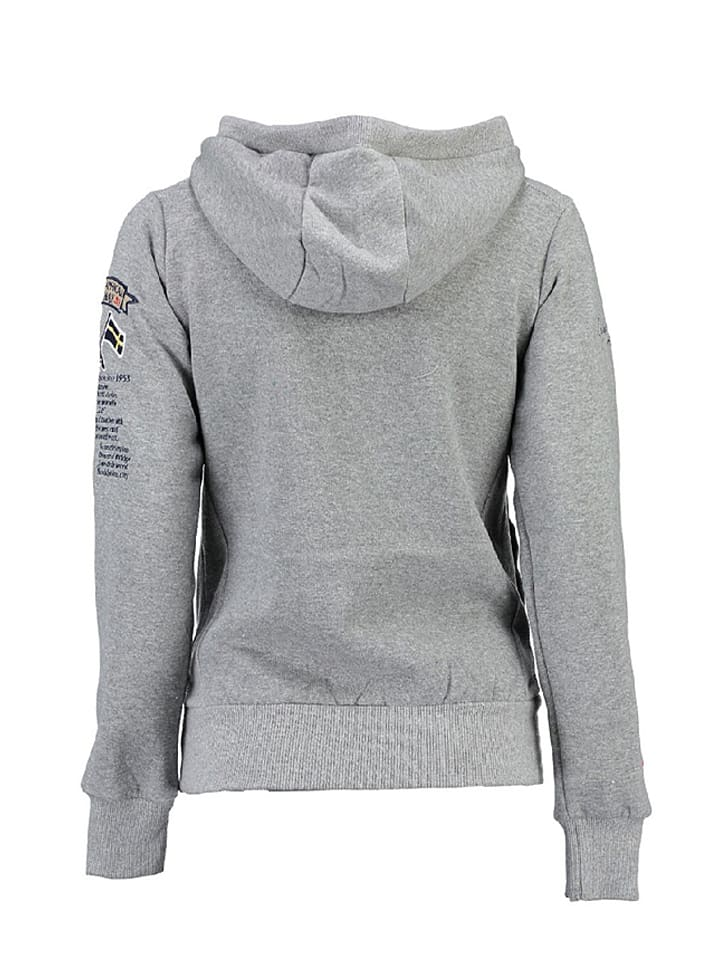 "Geographical Norway Sweatshirt ""Gymclass"" in Hellgrau"