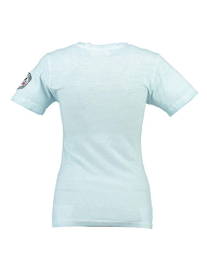 """Geographical Norway Shirt """"Jody"""" in Hellblau"""