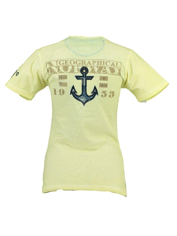 "Geographical Norway Shirt ""Judefruit"" in Gelb"