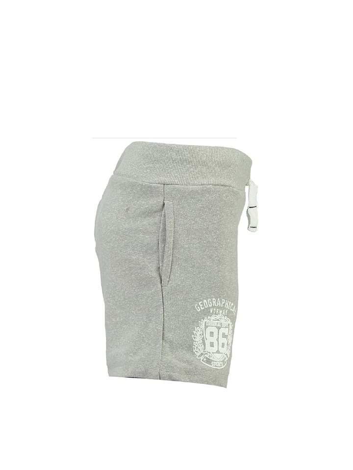 "Geographical Norway Shorts ""Pambo"" in Hellgrau"