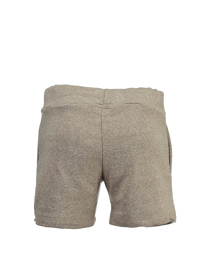 """Geographical Norway Shorts """"Pambo"""" in Taupe"""