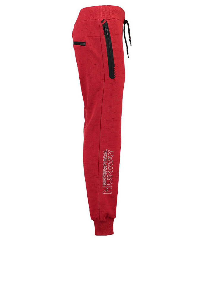"""Geographical Norway Sweathose """"Metincelle"""" in Rot"""
