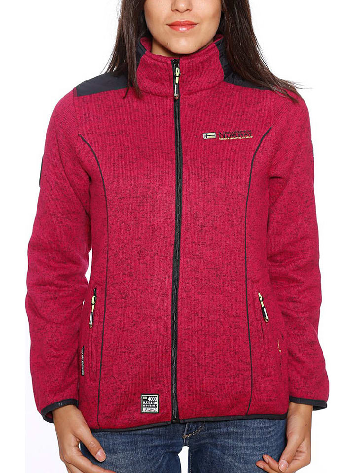 "Geographical Norway Fleecejacke ""Tina"" in Pink"
