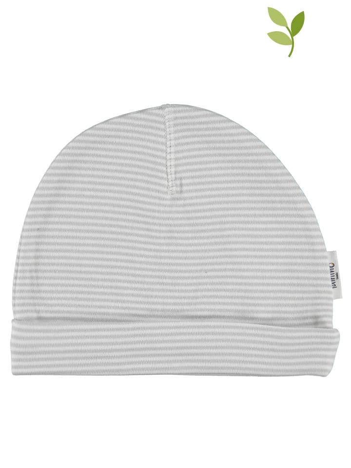 Lamino Bonnet , gris/blanc