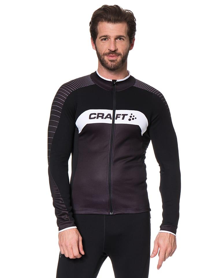 Craft Fahrradjacke in Schwarz