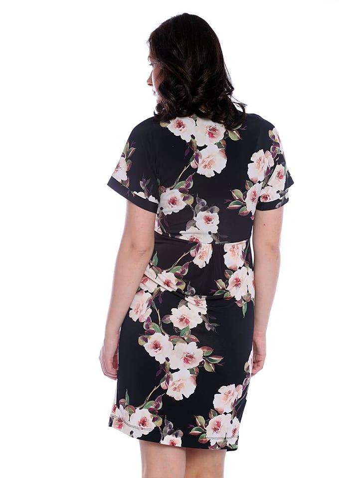 Vera Ravenna Kleid in Schwarz/ Bunt