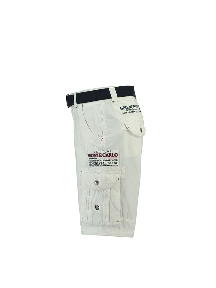 """Geographical Norway Bermudas """"Poudre"""" in Weiß"""