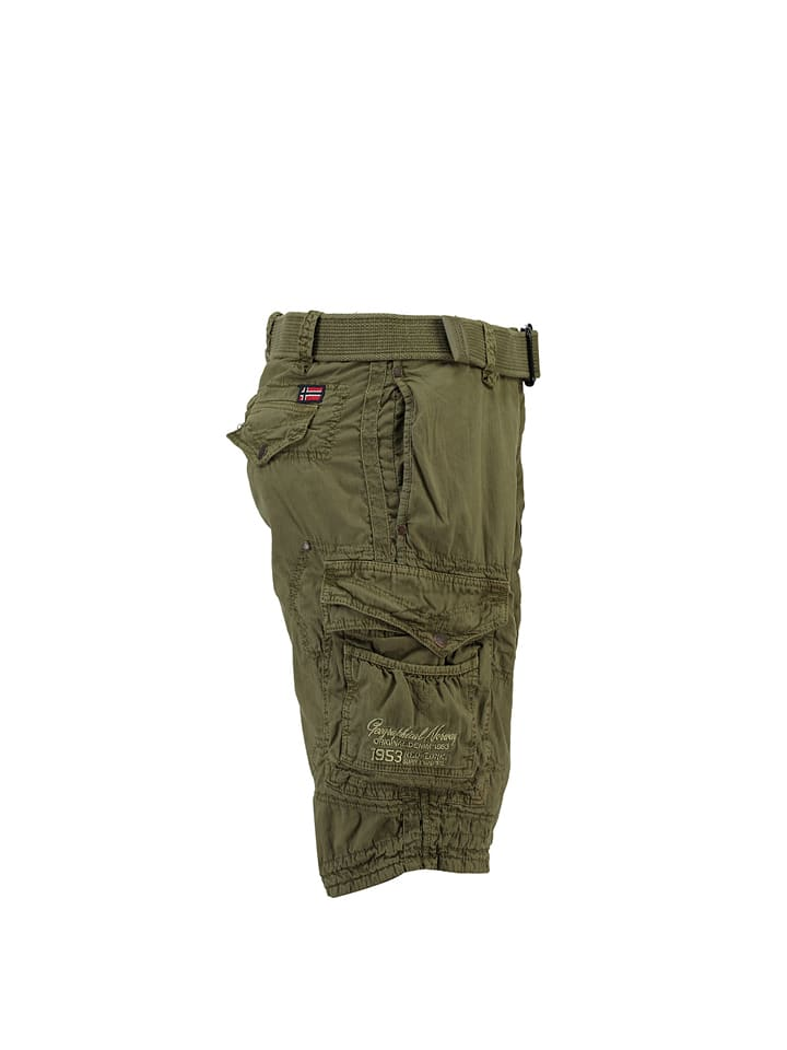 "Geographical Norway Bermudas ""Presbul"" in Oliv"