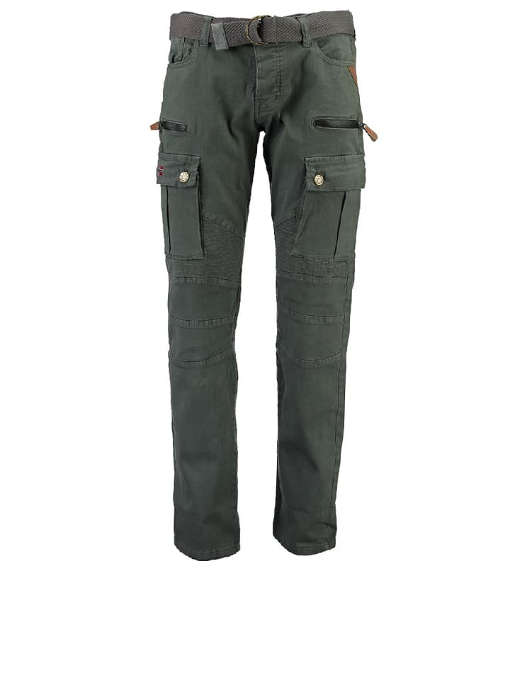 "Geographical Norway Cargohose ""Pologne"" in Anthrazit"