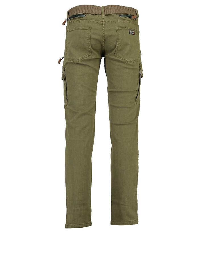 """Geographical Norway Cargohose """"Pologne"""" in Khaki"""