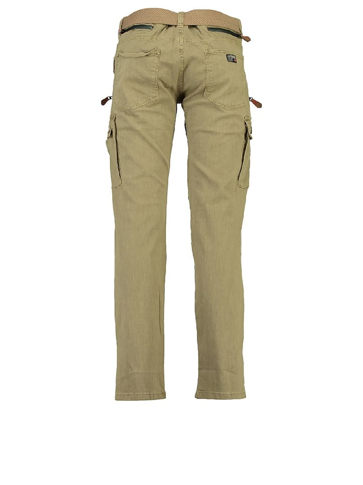 """Geographical Norway Cargohose """"Pologne"""" in Beige"""