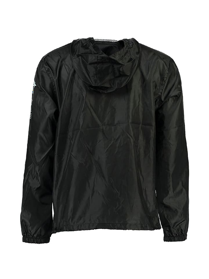 "Geographical Norway Windbreaker ""Butagaz"" in Schwarz"