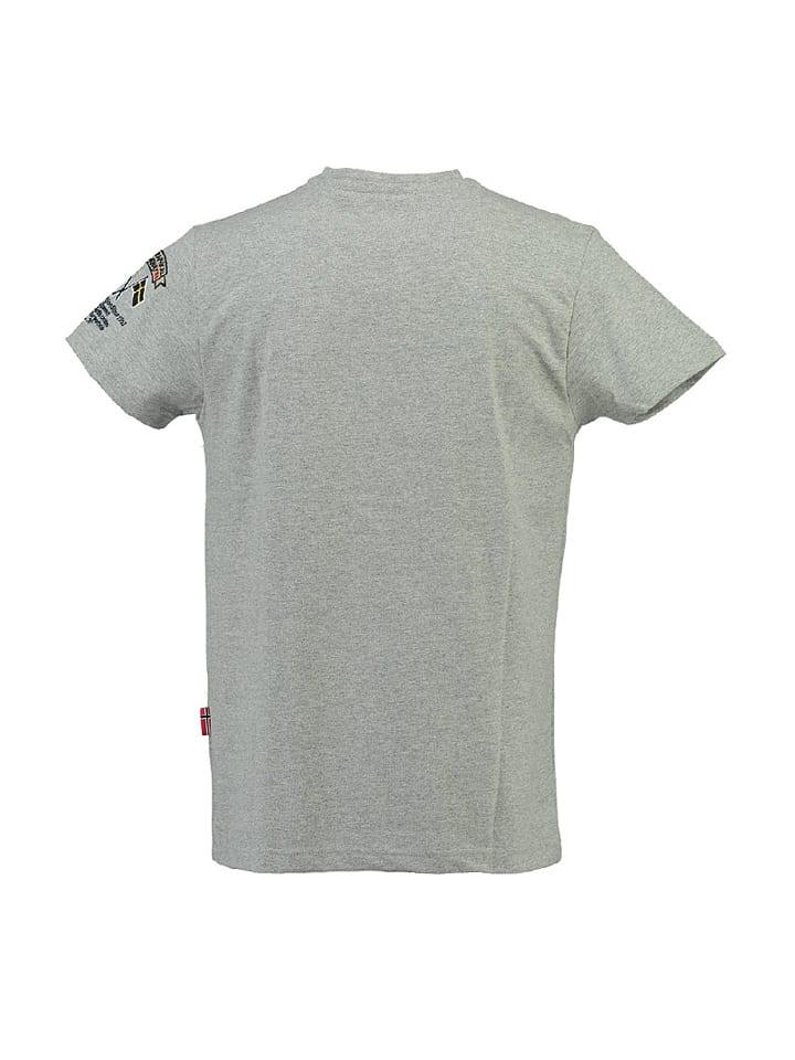 """Geographical Norway Shirt """"Jiclass"""" in Grau"""