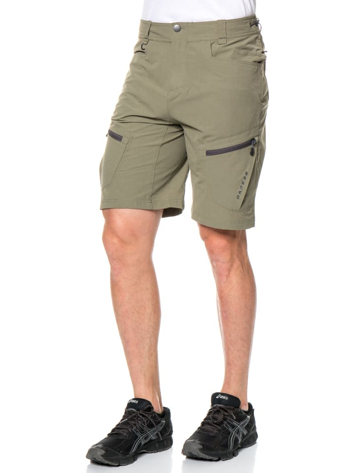 """Dare 2b Funktionsshorts """"Tuned In"""" in Khaki"""