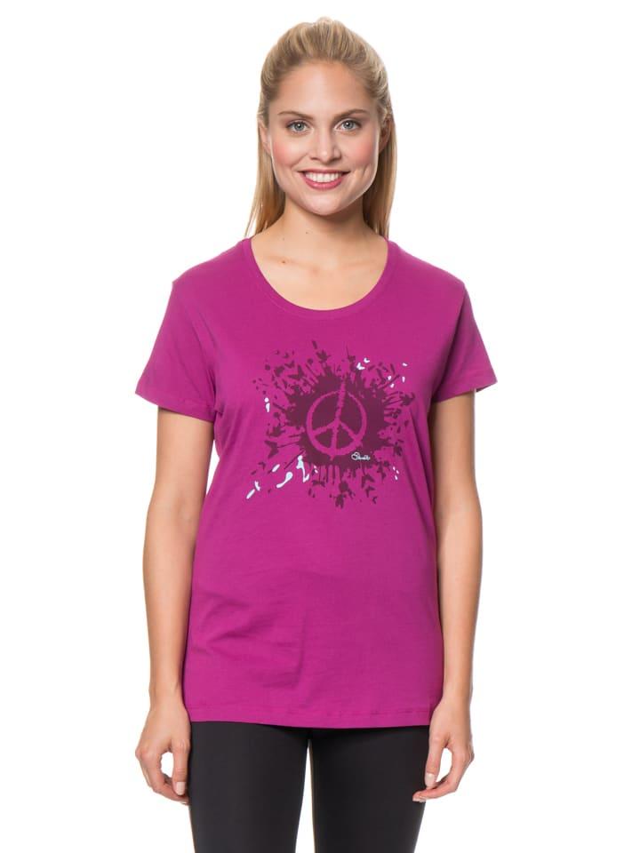 "Dare 2b Shirt ""Peace Out"" in Fuchsia"