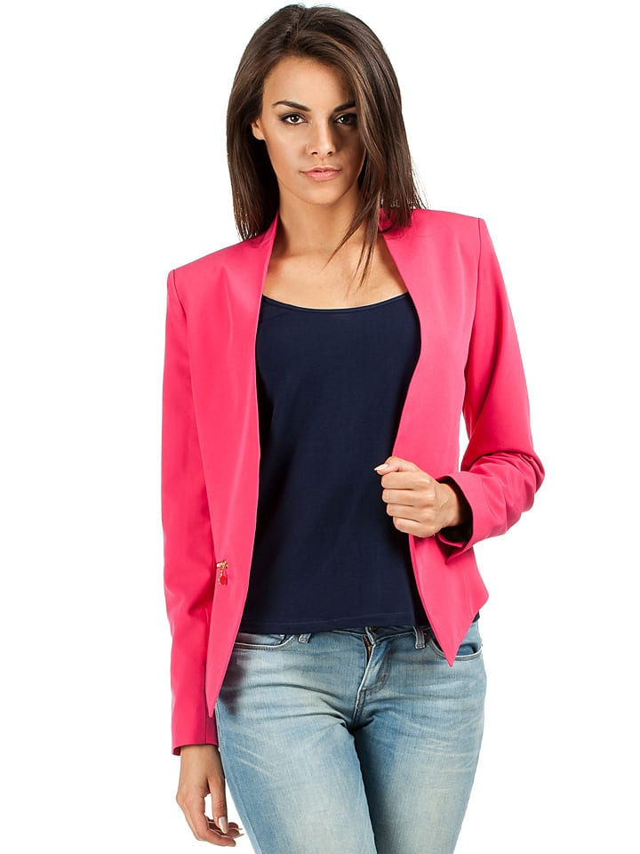 Made of emotion Jacke in Pink