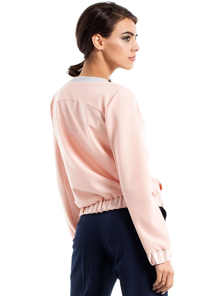 Made of emotion Jacke in Rosa
