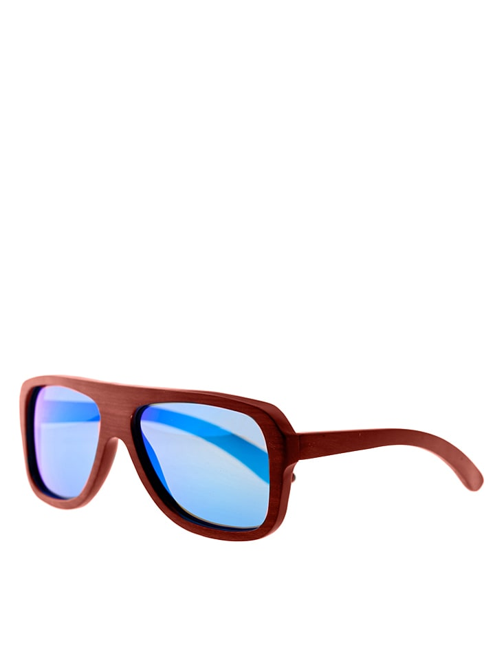 Earth wood Unisex-Sonnenbrille Siesta in Naturholz - 66% R3OIpyDc