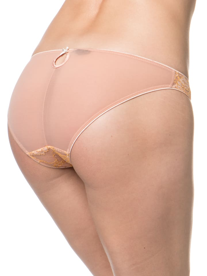 "Heidi Klum Intimates Slip ""Opal Dream"" in Rosa/ Apricot"