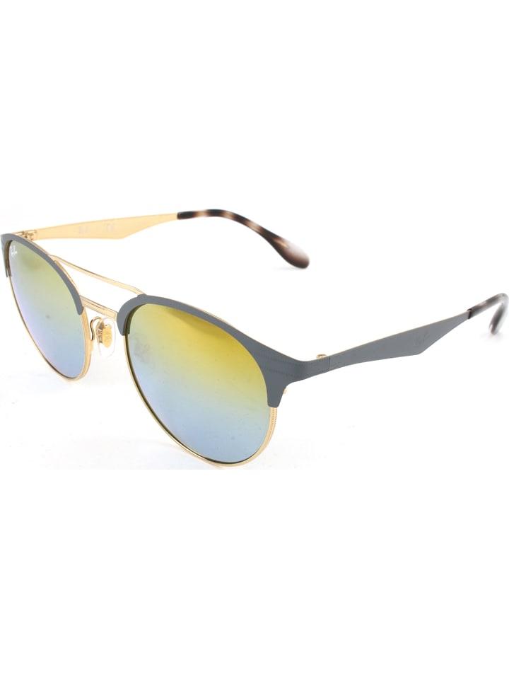 ray ban brille grau rot