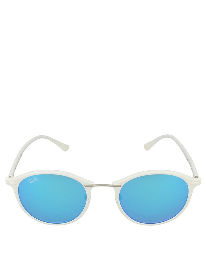 ray ban weiß blau