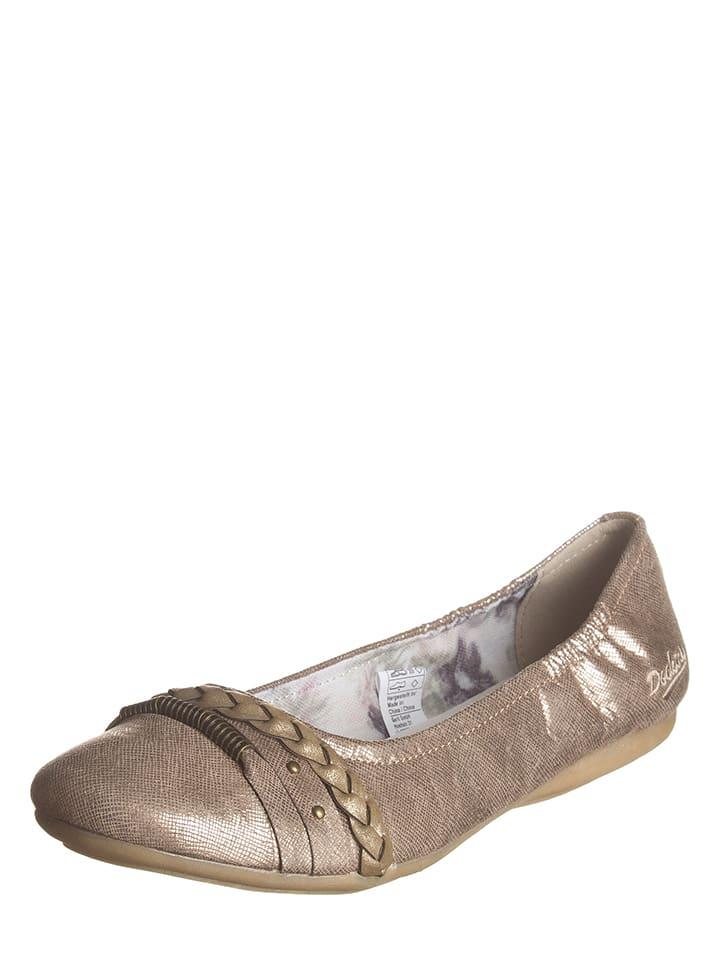 Dockers by Gerli Ballerinas in Bronze