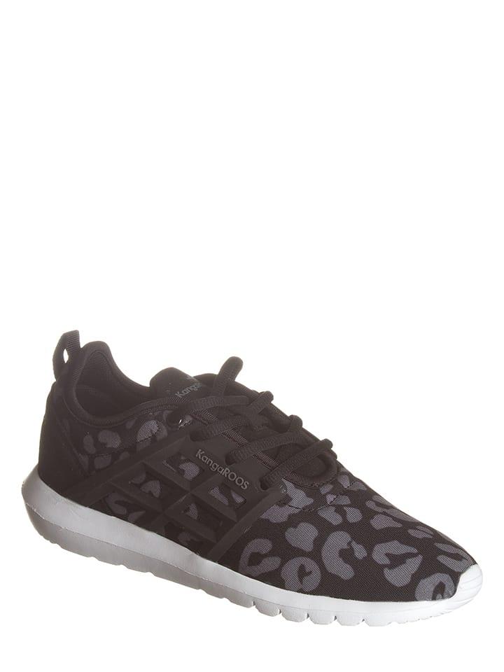 """Kangaroos Sneakers """"K-X 8203"""" in Schwarz/ Grau"""