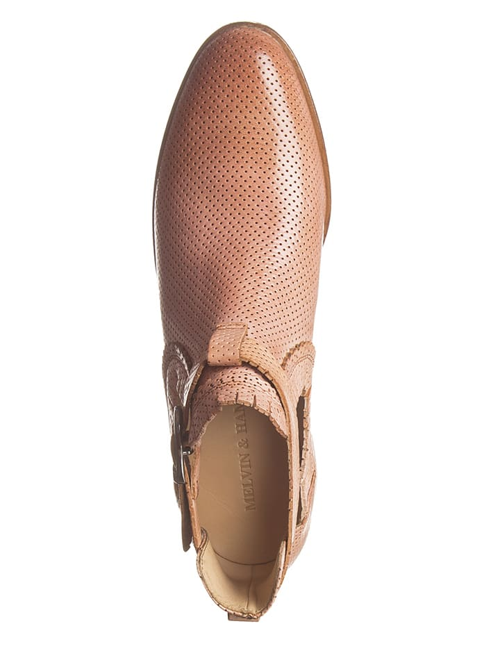 "MELVIN & HAMILTON Leder-Boots ""Alina"" in Rosé"