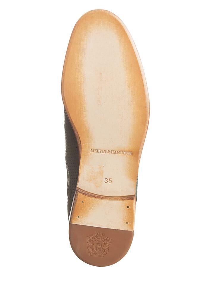 "MELVIN & HAMILTON Leder-Chelsea-Boots ""Amelie"" in Grün"