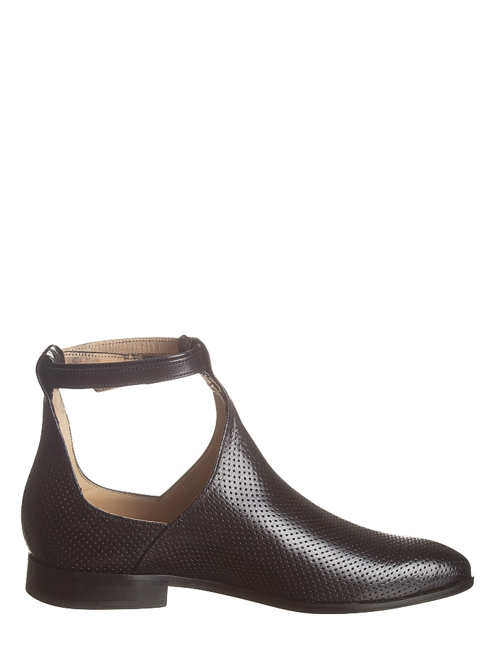 "MELVIN & HAMILTON Leder-Boots ""Jessy"" in Schwarz"