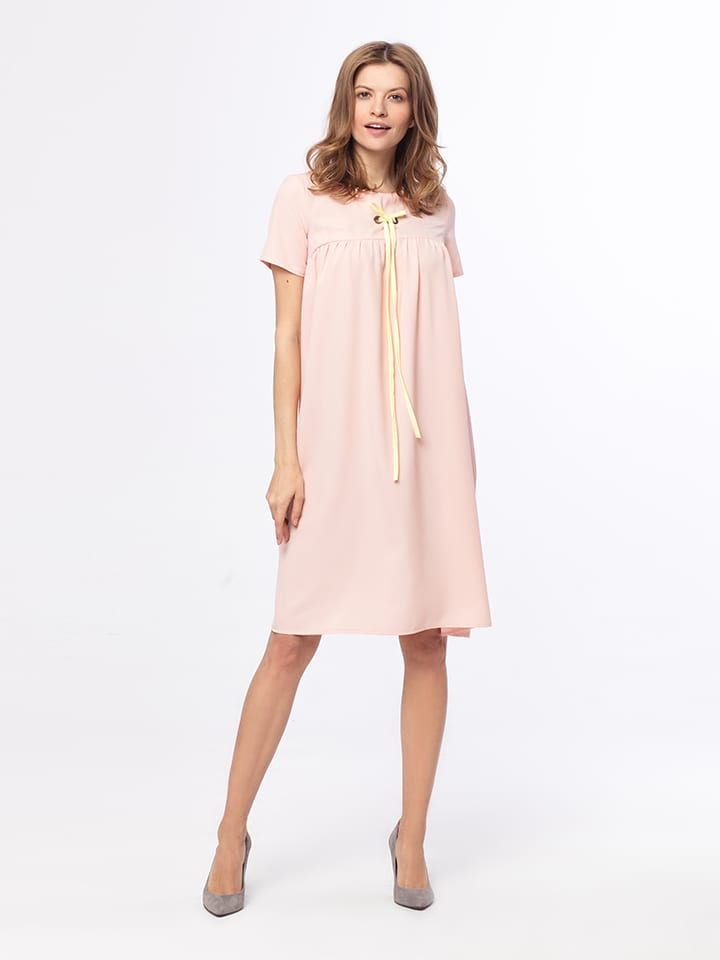 Kabelle Kleid in Rosé