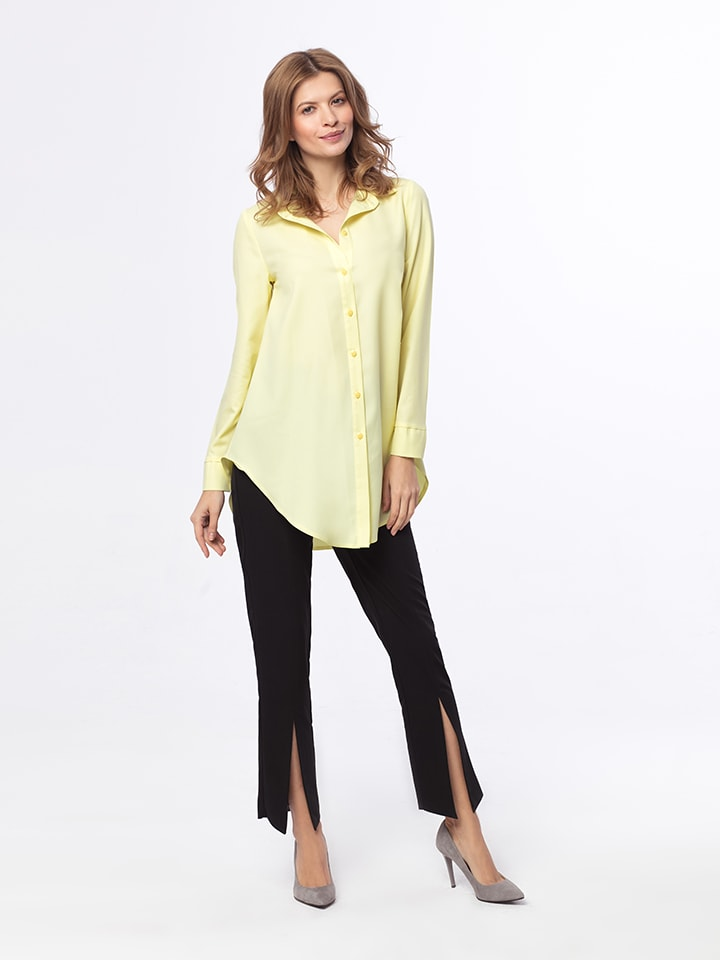 Kabelle Bluse in Gelb