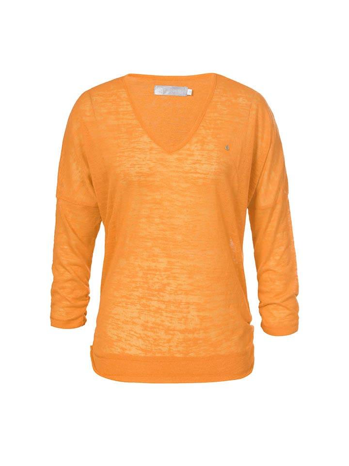 "LUHTA Shirt ""Hellevi"" in Orange"