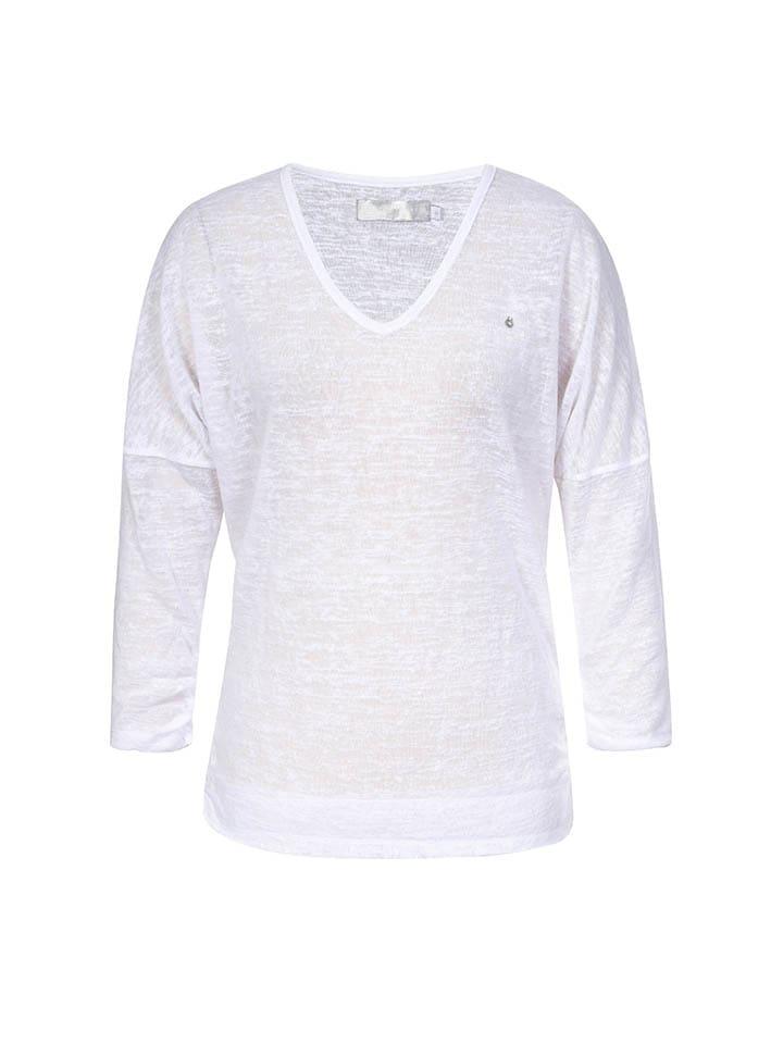 "LUHTA Shirt ""Hellevi"" in Weiß"