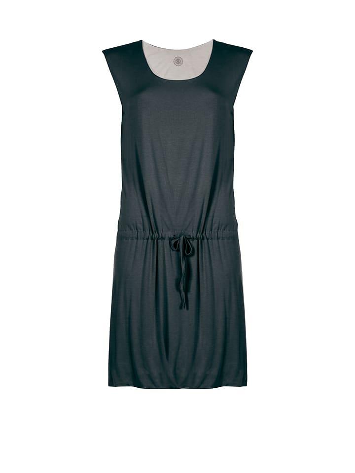 Poivre Blanc Kleid in Anthrazit/ Grau