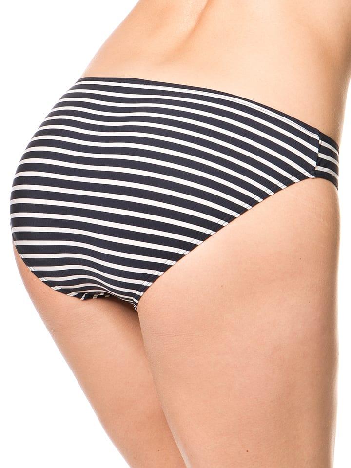 Marc O'Polo Bikini-Slip in Dunkelblau/ Creme