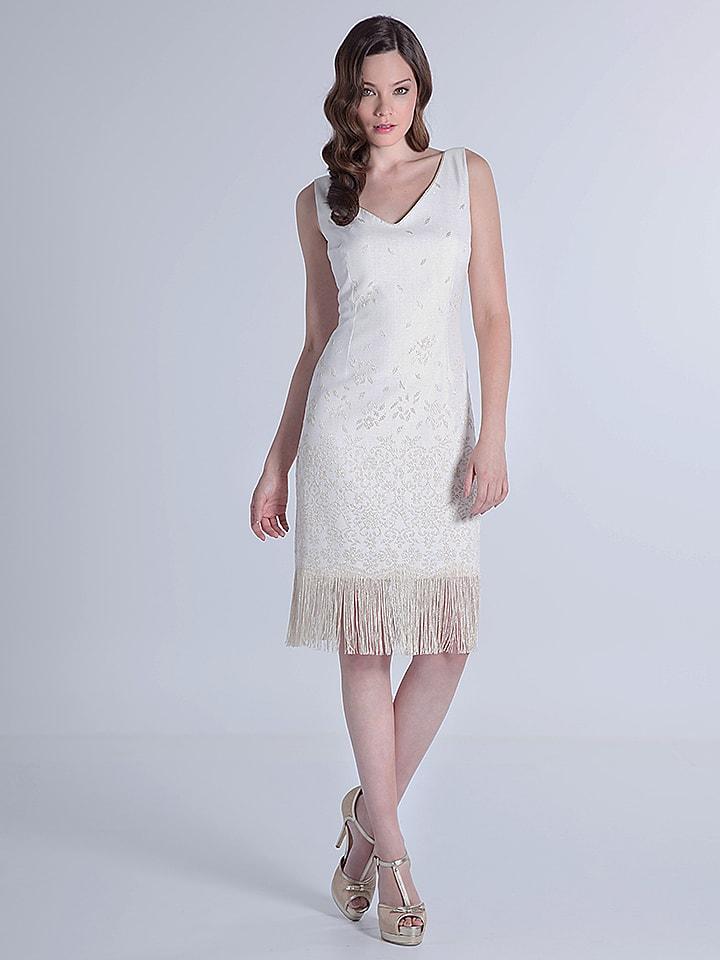 OLIMARA Kleid in Creme