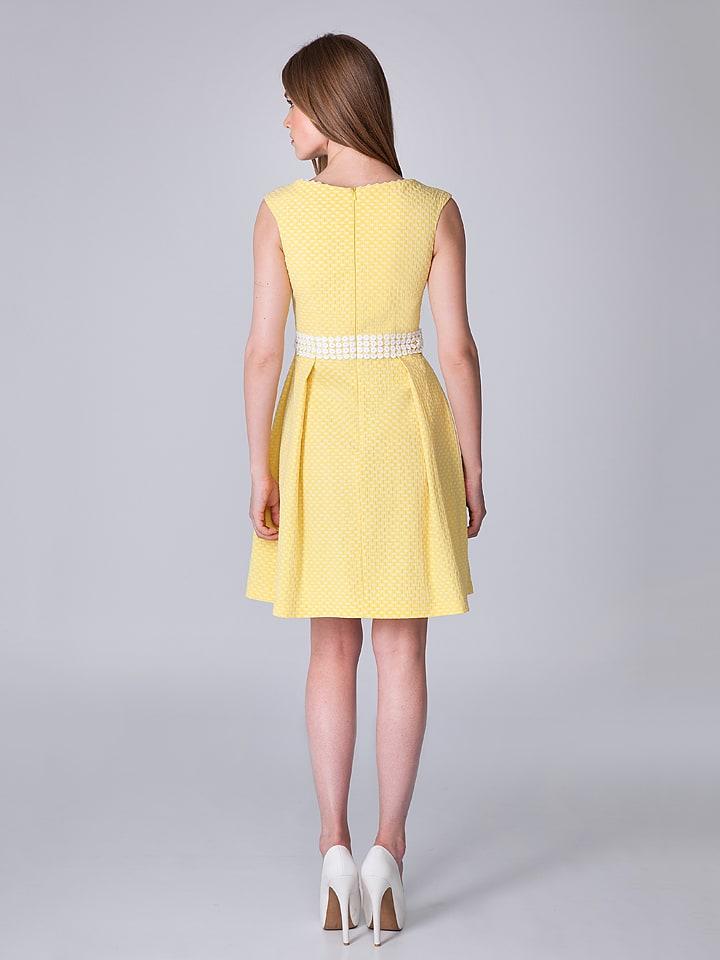 OLIMARA Kleid in Gelb