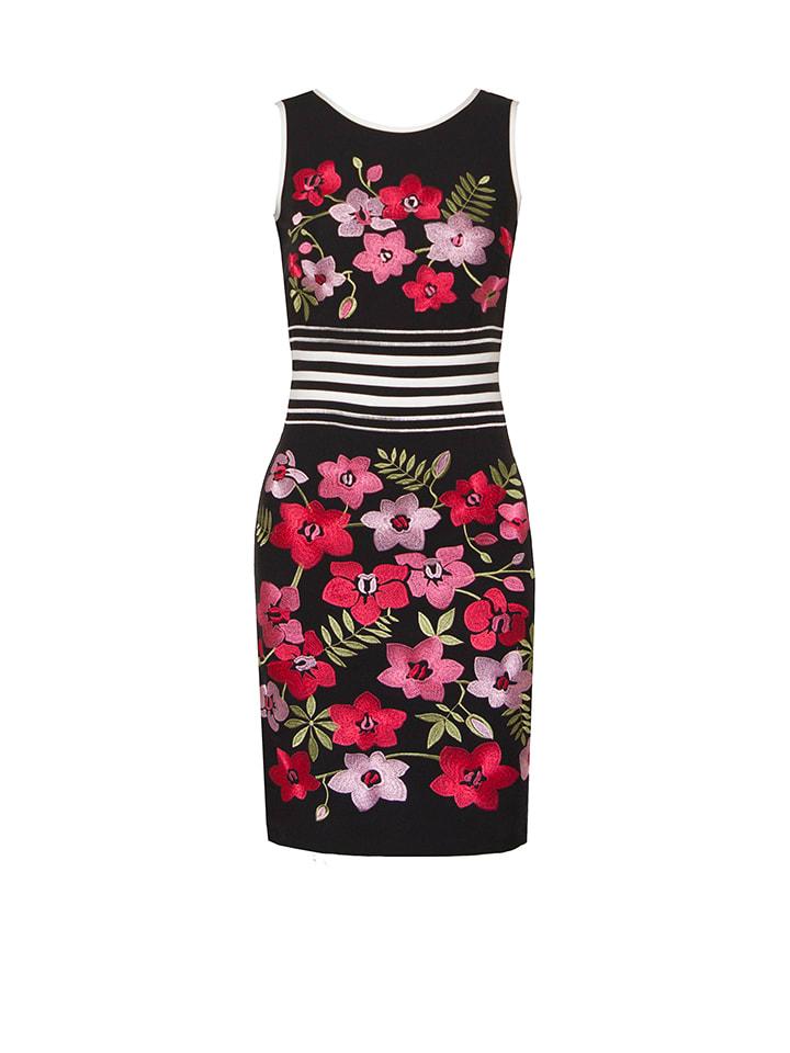 OLIMARA Kleid in Schwarz/ Bunt