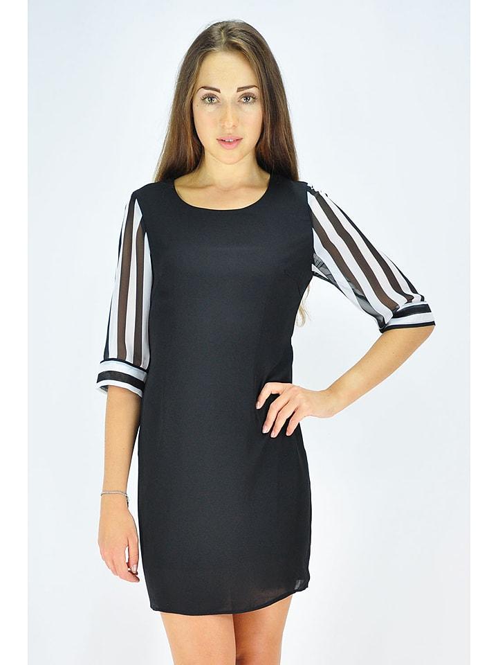 GoldKidLondon Kleid in Schwarz/ Weiß